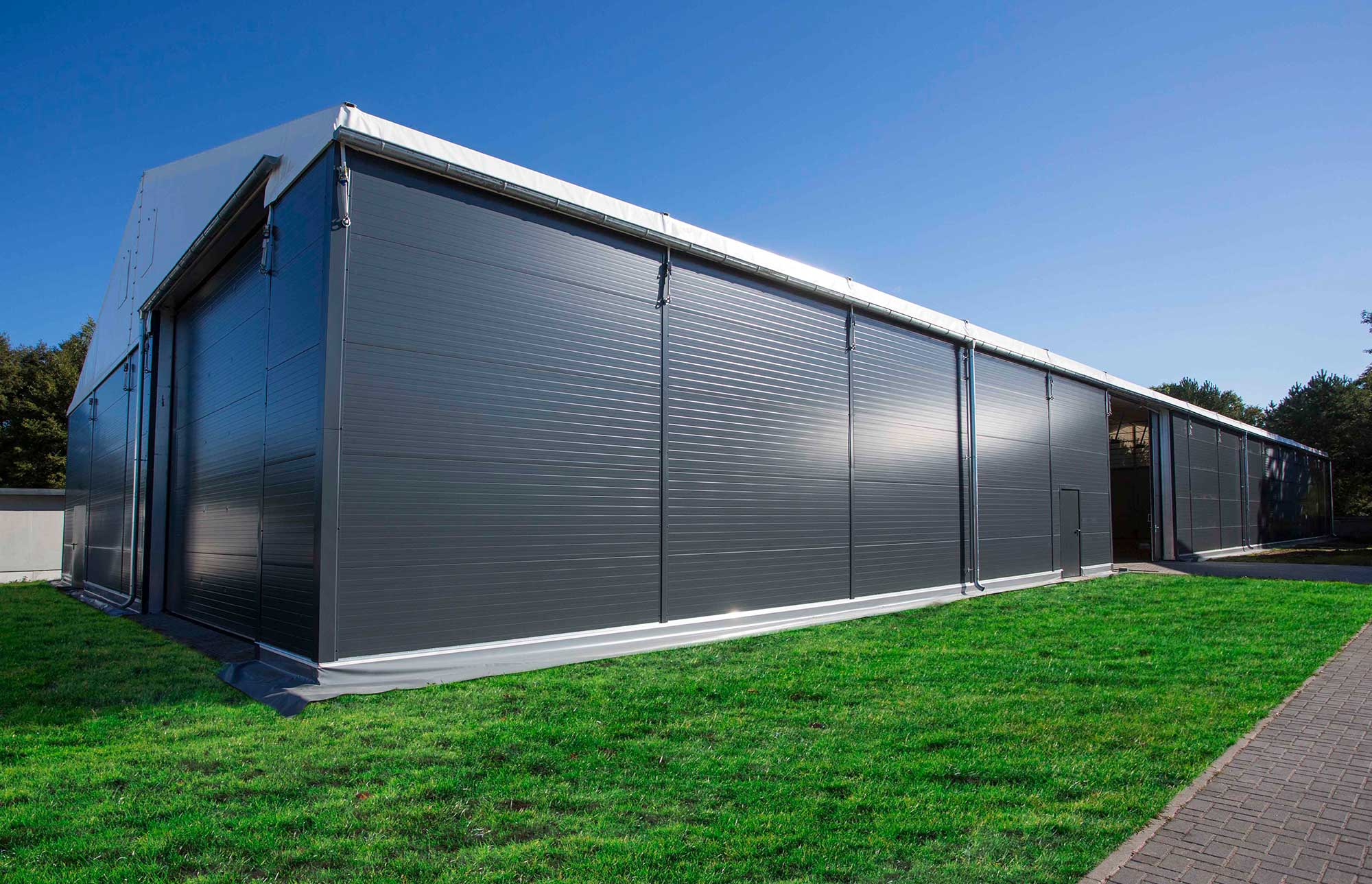 Storage Tent by Fews Temporary Buildings
