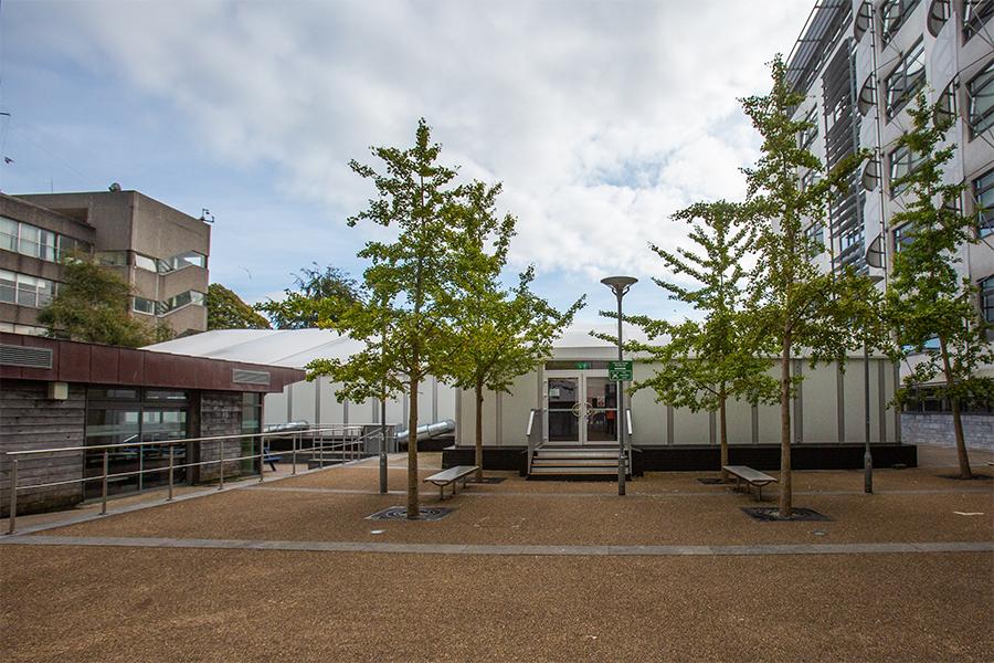 Plymouth University Temporary Classroom
