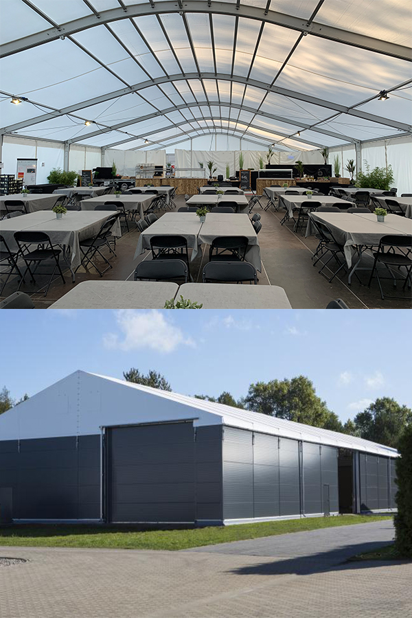 Marquee Canteen Storage