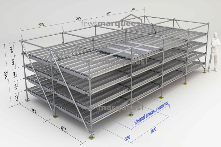 Mortuary Storage Racking