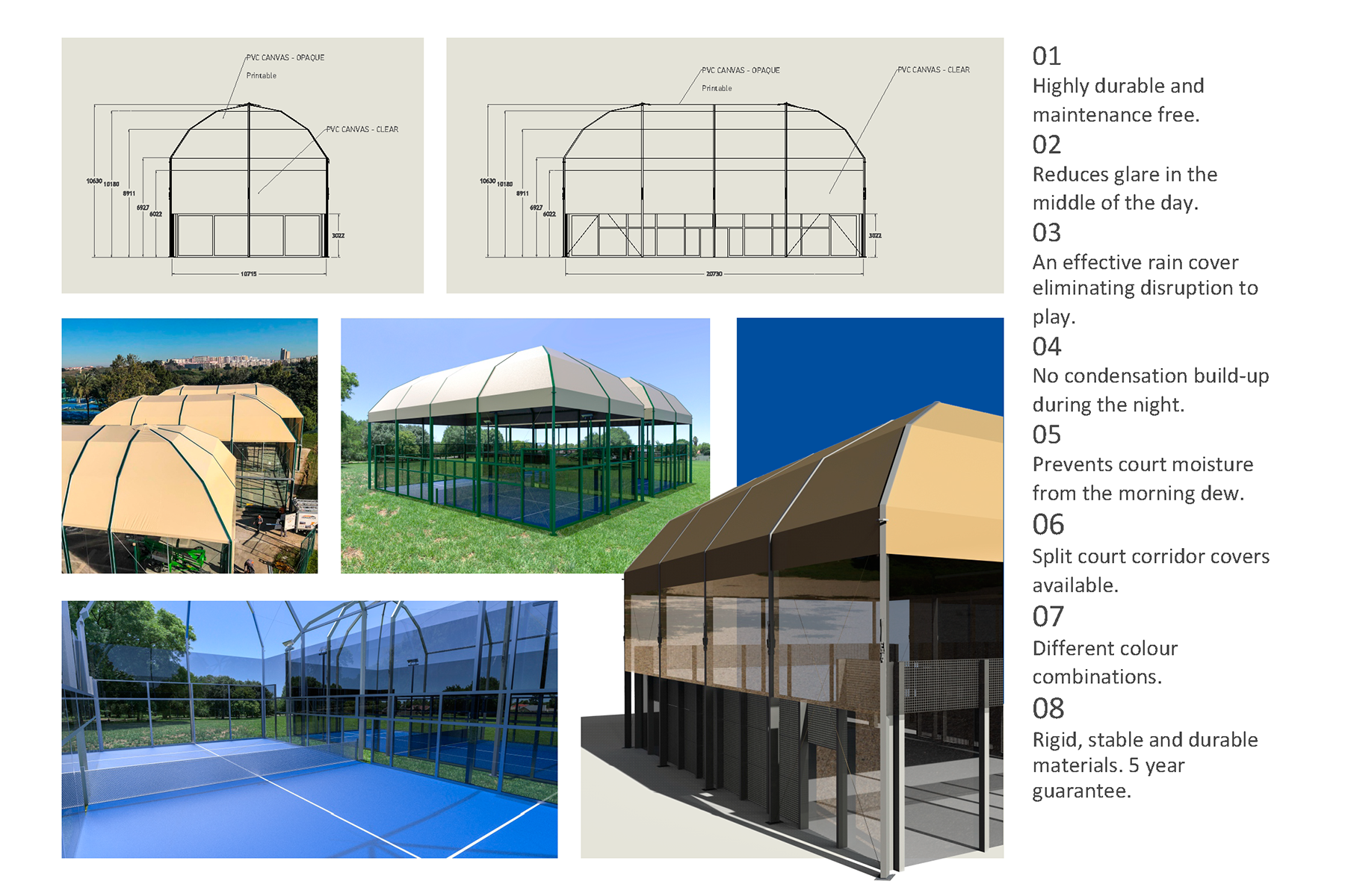 Padel Structure Information