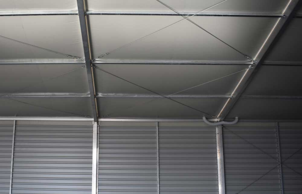 Thermo roof with single skin wall