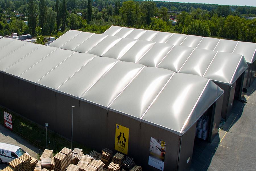 Temporary Cold storage Building