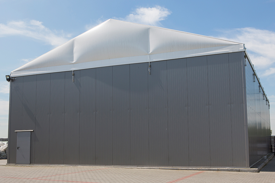 Temporary Insulated Warehouse Buildings