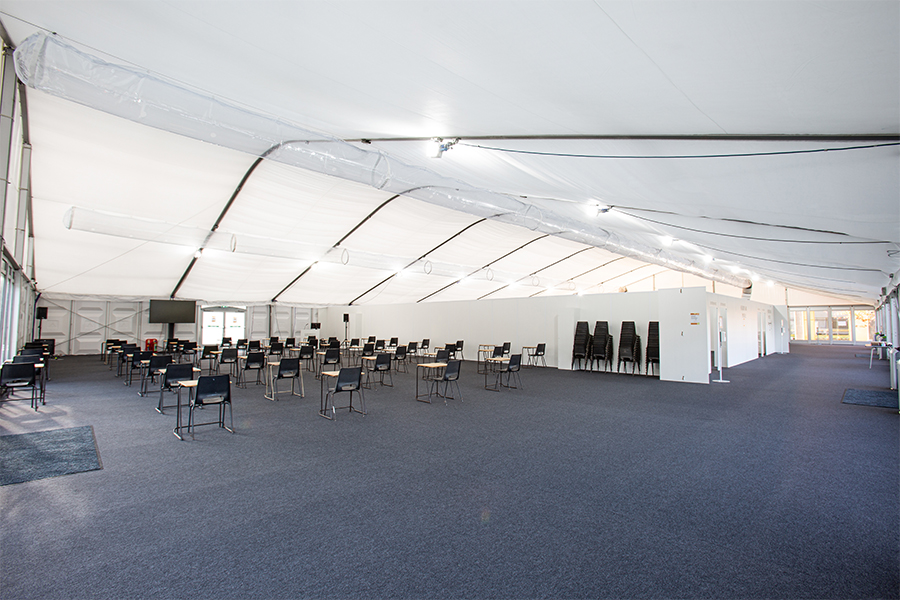 Birmingham University Temporary Classroom and Lecture space