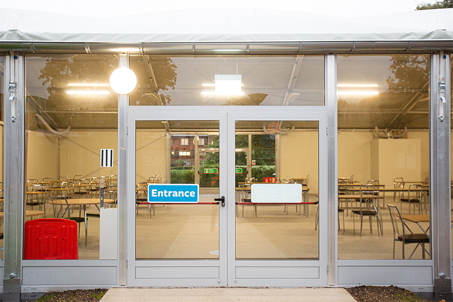 Temporary Canteen University of Southampton